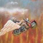 Hells Angels, (Auftragsarbeit, VERKAUFT)