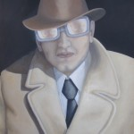 Mann mit Brille (VERKAUFT)