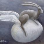 fliegender Hase2 (VERKAUFT)