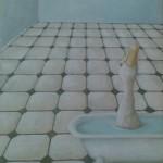 Gans in Badewanne (VERKAUFT)