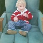 Kinderportrait (Auftragsarbeit, VERKAUFT)