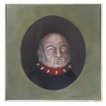 Aristokrat1, Acryl auf Leinwand, 30x30cm