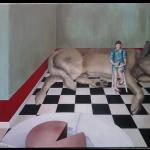 Auftragsarbeit (Bild für die Küche), Acry auf Leinwand, 100x80cm (VERKAUFT)