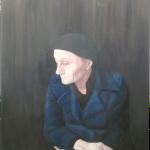 Elvira, Acryl auf Leinwand, 100x120cm (VERKAUFT)