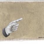 Hinweis13, Acryl auf Leinen, 25cm x 20cm