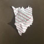 Papier7, Acryl auf MdF, B40H50cm, Oktober 2020